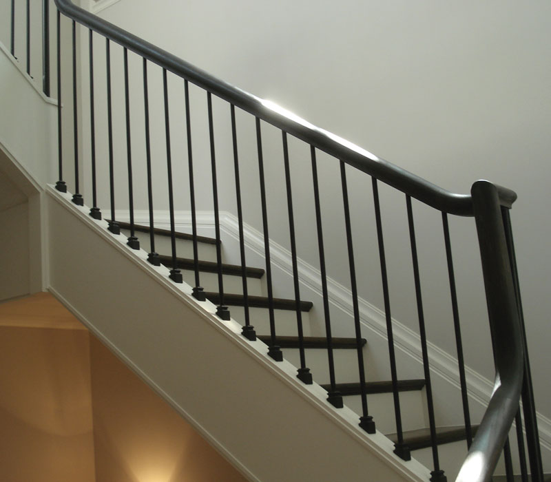 Wood And Iron Balusters